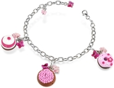 Dolci Gioie Sterling Silver Detachable Charm Bracelet
