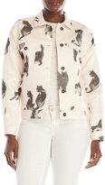 Paul & Joe Sister Cat Print Jacket