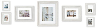 Pinnacle 7 Piece Distressed White Mixed Profile Frame Kit