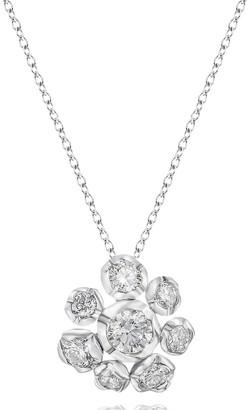 Annoushka 18kt white gold Marguerite diamond necklace