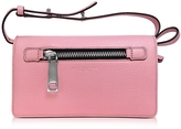 Marc Jacobs Pink Fleur Gotham Wallet w/Leather Strap