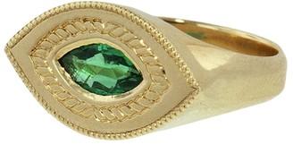 Emerald Baby Brutus Ring