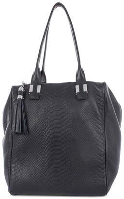 Celine Dion Collection Leather Elegy Satchel