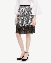 Ann Taylor Tulip Lace Full Skirt
