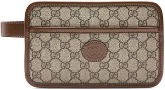 Gucci GG travel pouch with InterlockingG