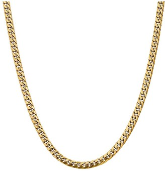 "14K Gold 24"" Cuban Link Necklace, 40.6g"