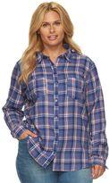Columbia Plus Size Holston Ridge Flannel Shirt