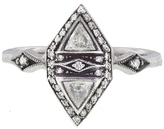 Cathy Waterman Double Triangle Diamond Ring