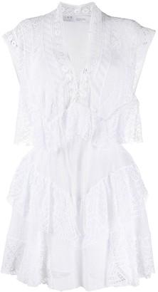 IRO Lace Panel Dress
