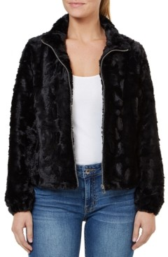 Numero Faux-Fur Zip-Front Jacket