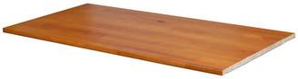 Palace Imports Solid Wood Optional Shelf For 2 or 3 Sliding Door Wardrobes, Honey Pin