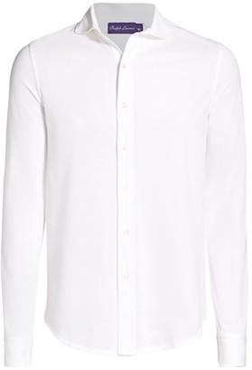 Ralph Lauren Purple Label Down Collar Shirt
