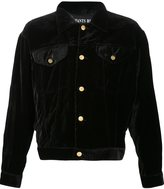 Enfants Riches Deprimes velvet denim-style jacket