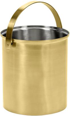 Serax - Brushed Steel Gold Ice Bucket - Large