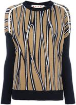 Marni Trellis intarsia jumper - women - Silk/Cotton/Polyamide - 38