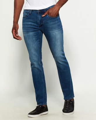 Buffalo David Bitton Classic Worn Super Max-X Basic Super Skinny Stretch Jeans
