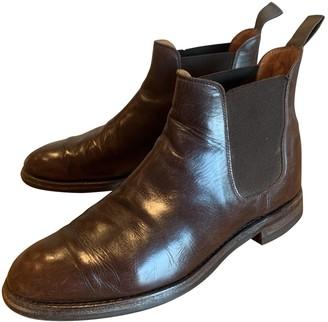 Crockett Jones Crockett& Jones Brown Leather Boots