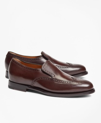 Brooks Brothers 200th Anniversary Limited-Edition Golden Fleece Cordovan Wingtip Loafers