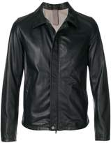Orciani zipped biker jacket
