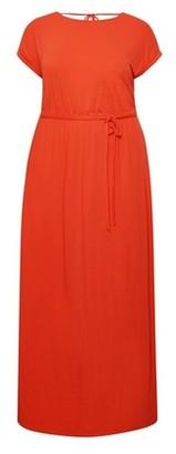 Dorothy Perkins Womens Dp Curve Orange Maxi Dress, Orange