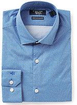 Original Penguin Heritage Slim-Fit Spread-Collar Minnow Printed Dress Shirt