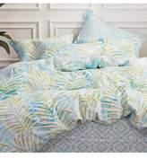 California Design Den by NMK Tropical Dreams Comforter 3-Piece Set - Full-Queen - Blue