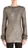 Rachel Roy Printed Foil Top