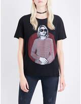 R 13 Ladies Grey Luxury Kurt Boy Cotton-Jersey T-Shirt