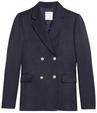 Sandro Double-Breasted Blazer