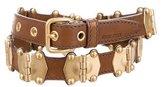 Miu Miu Embellished Waist Belt