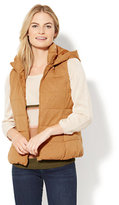 New York & Co. Quilted Knit Puffer Vest