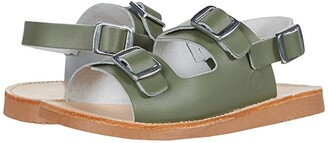 Freshly Picked Delray Sandal (Infant/Toddler/Little Kid) (Olive) Kid's Shoes