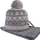 Actionfox Men's Winter Hat & Scarf
