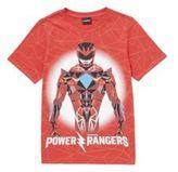 Character Sabans Power Rangers Short Sleeve T-Shirt, Boy's