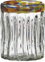 Global Amici Festival Optic 4-pc. Double Old-Fashioned Glass Set