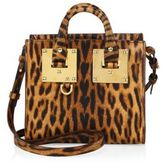 Sophie Hulme Mini Leopard-Print Leather Box Tote