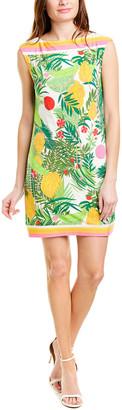 Trina Turk Hibiscus Shift Dress