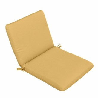 Charlton Home Chair Indoor/Outdoor Chaise Lounge Cushion Fabric: Camel