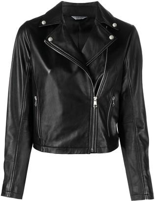 Liu Jo Leather Biker Jacket