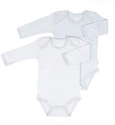 Tadpoles Blue Organic Cotton Bodysuit Set