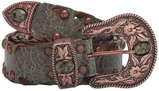 Leather Rock Lenora Belt (Patina) Women's Belts