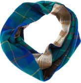 Andrea Crews recycled vintage fabric circle scarf