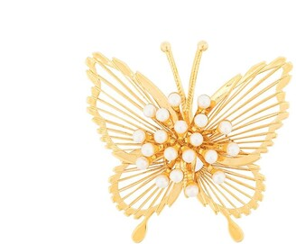 Monet Pre Owned 1970's Butterfly Brooch