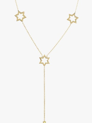 Emily Mortimer Jewellery Cosmo Star Long Lariat Necklace