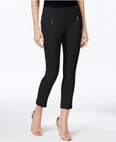 Alfani Zip-Pocket Pull-On Capri Pants, Only at Macy's