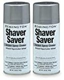 Remington SP-4 Shaver Saver Cleaner & Lubricant Spray (2 Cans) by