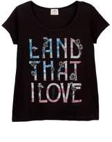 O'Neill Love Land Scoop Tee (Little Girls & Big Girls)