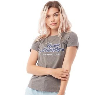 Tokyo Laundry Womens Linda T-Shirt Mid Grey Marl