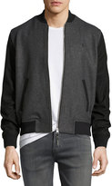 Original Penguin Wool-Bend Bomber Jacket, Gray