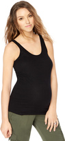 Motherhood Rib Knit Maternity Tank Top
